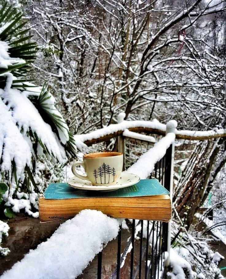 С добрым утром зима снег картинки