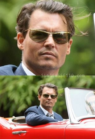 Johnny Depp sunglasses in The Rum Diary
