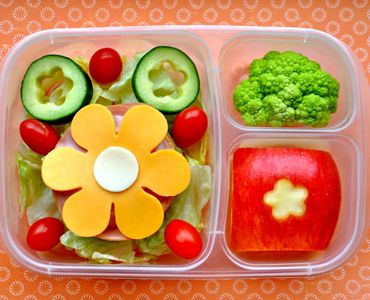 When mom of three Kelly Lester got frustrated with packing her kids' lunch into so many baggies, she created a href=http://www.easylunchboxes.comEasyLunchBoxes/a containers with three compartments big enough to fit a well-balanced meal. It was just a matter of time before fans of the product started sharing their own lunch creations—too cute not to eat! Here are 10 of their yummy and healthy bento-inspired ideas that are surprisingly easy to prepare.
