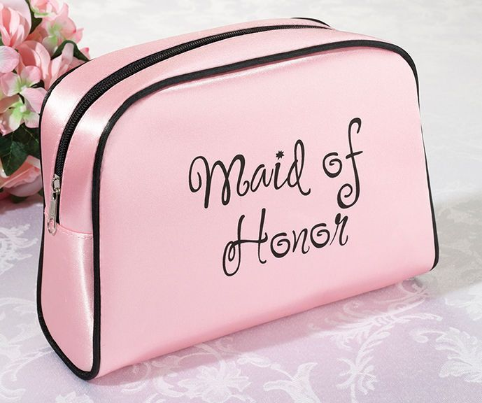 Maid of Honor Pink Travel Bag Maid Of Honor Gift