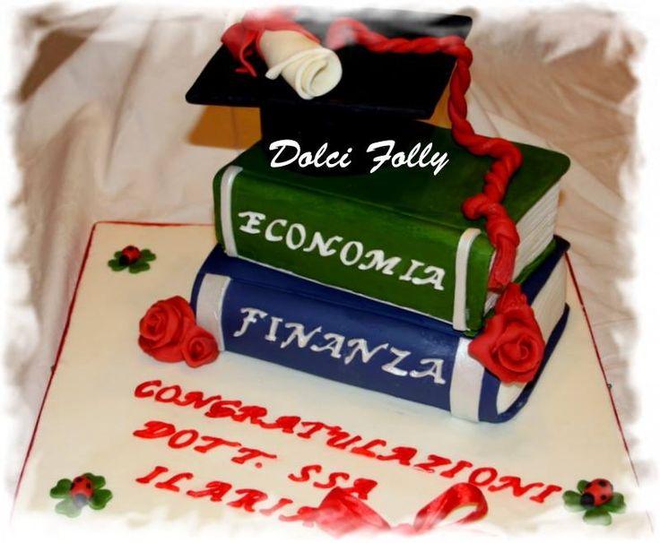 torta per laurea in economia - Cerca con Google
