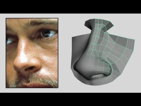 ▶ How to Model A Nose - Low Poly Beginner to Intermediate 3D Modeling Tutorial - YouTube
