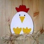 Hen(chicken) crafts