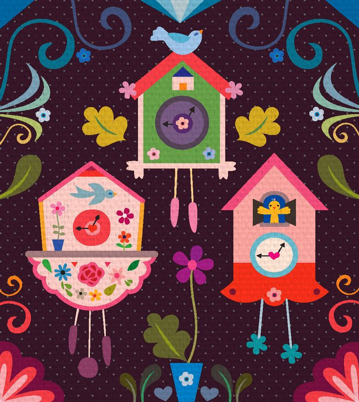 cuckoo clock illustration - Google Search