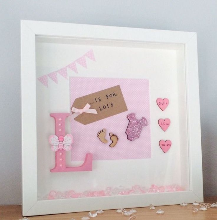 Perfect gift for a new baby, or Christening gift or to put up in the baby's nursery. personalised with free standing letter, name, date, weight and time. | eBay!