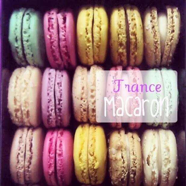 "#traveltaste ""Deserts of the World"" Macaron, France"