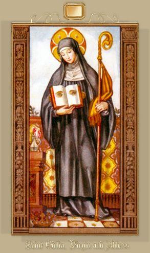 The Power of Prayer...St. Odilia, Patron Saint of the Eyes