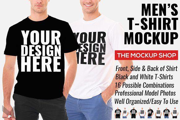 Download Men S T Shirt Mockup By The Mockup Shop On Creativemarket Tshirt Mockup Shirt Mockup Design Mockup Free