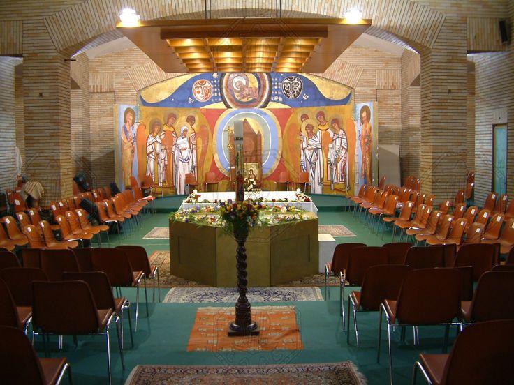 Cripta - parroquia Santos Mártires Canadienses - Roma