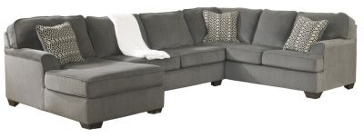 $900 + 250 for storage ottoman Ashley Loric 3-Piece Sectional
