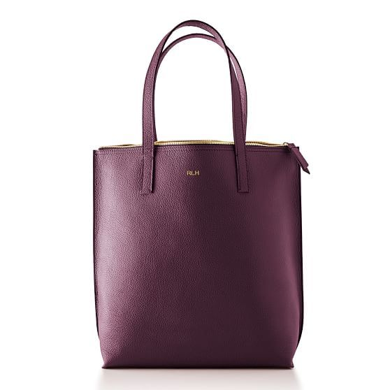 Daily Leather Tote | Mark and Graham