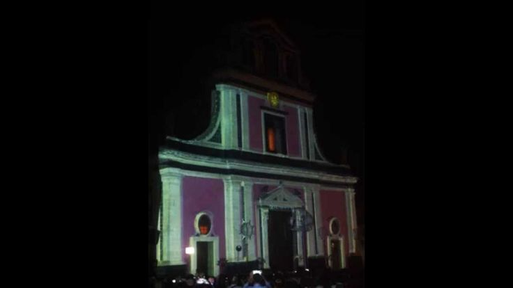 projection mapping 3d San Vito 2014 Mascalucia