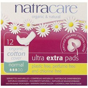 Absorbante Natracare cu materiale naturale, strat extra moale de bumbac. Magazin online cu cosmetice bio si produse de igiena intima bio.