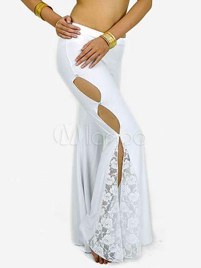 #Milanoo.com Ltd #Belly Dance Pants #White #Lace #Decoration #Cotton #Blend #Womens #Belly #Dance #Pants White Cut Out Lace Decoration Cotton Blend Womens Belly Dance Pants http://www.seapai.com/product.aspx?PID=5689856