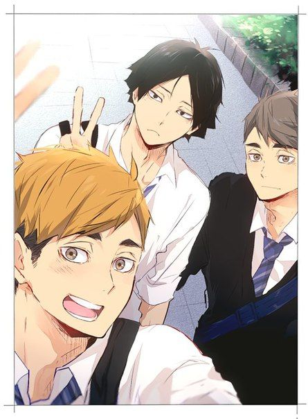 Haikyuu!! Cuties from Inarizaki!!