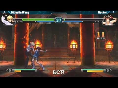 ECT4 Tournament King of Fighters XIII Top 8 - EG Justin Wong vs Flocker #KOFXIII