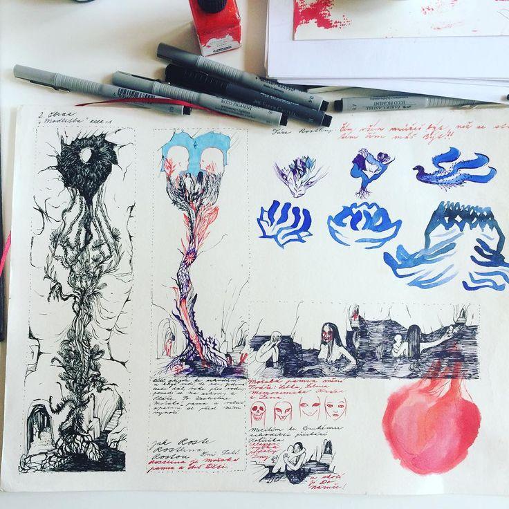 #workinprogress #storyboardartist #storyboard #prayforlove #fabercastell #drawing #drawingart #symbolism #heart #flowerchild #subconscious #sketch #spiritualism #visionaryart