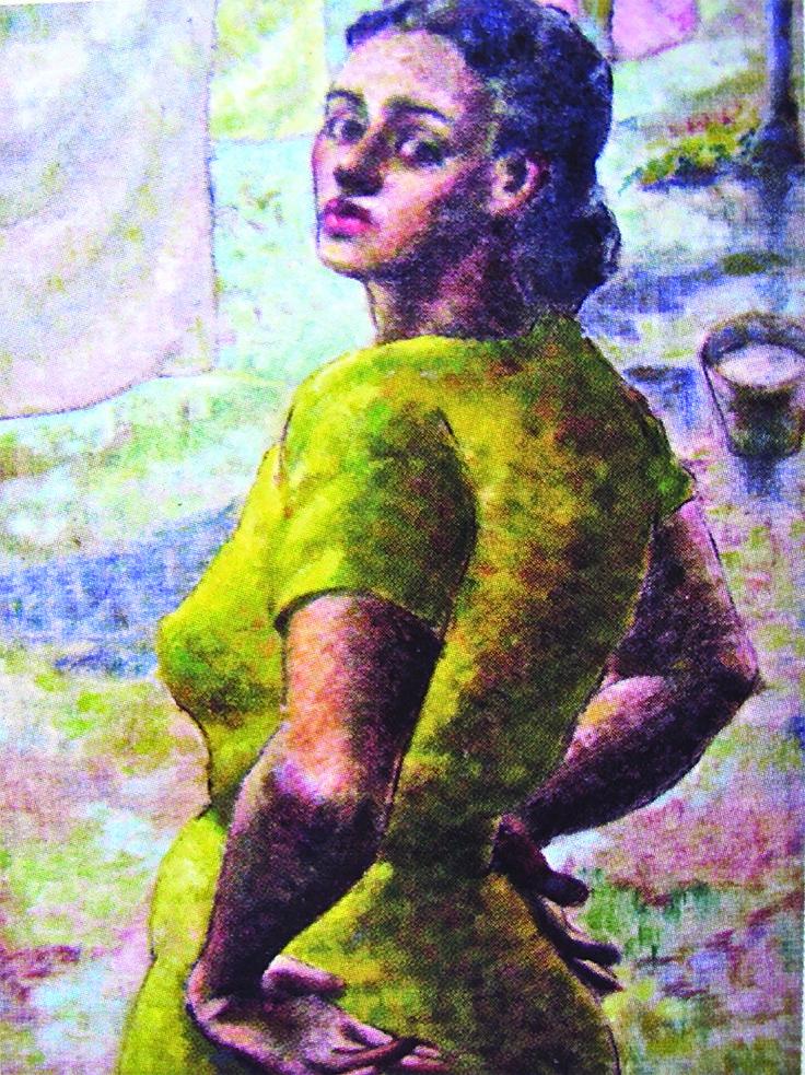 Lorenza, la lavandera, 1939 Colección Museo de Historia, Antropología y Arte, Universidad de Puerto Rico, Recinto de Río Piedras
