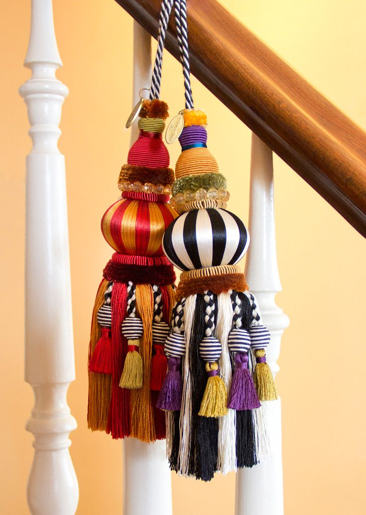 TASSELS.........PC...............Can one ever have too many tassels?