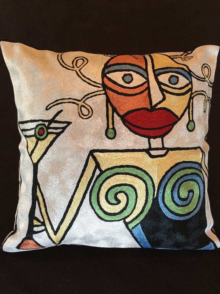 22 Best Picasso Embroidery Patterns Images On Pinterest