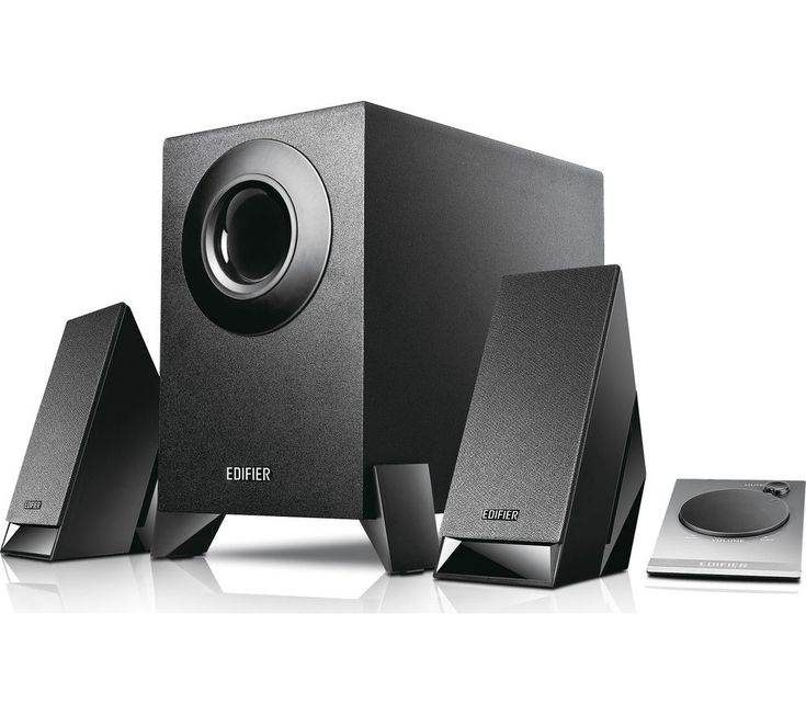 EDIFIER M1360 2.1 PC Speakers: Enjoy clear, even sound with the Edifier M1360 2.1 PC Speakers which includes a… #Electrical #HomeAppliances