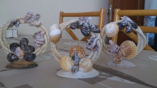 Decoração de conchas