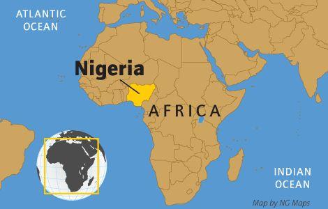 Map of Nigeria | Map_of_Nigeria.gif