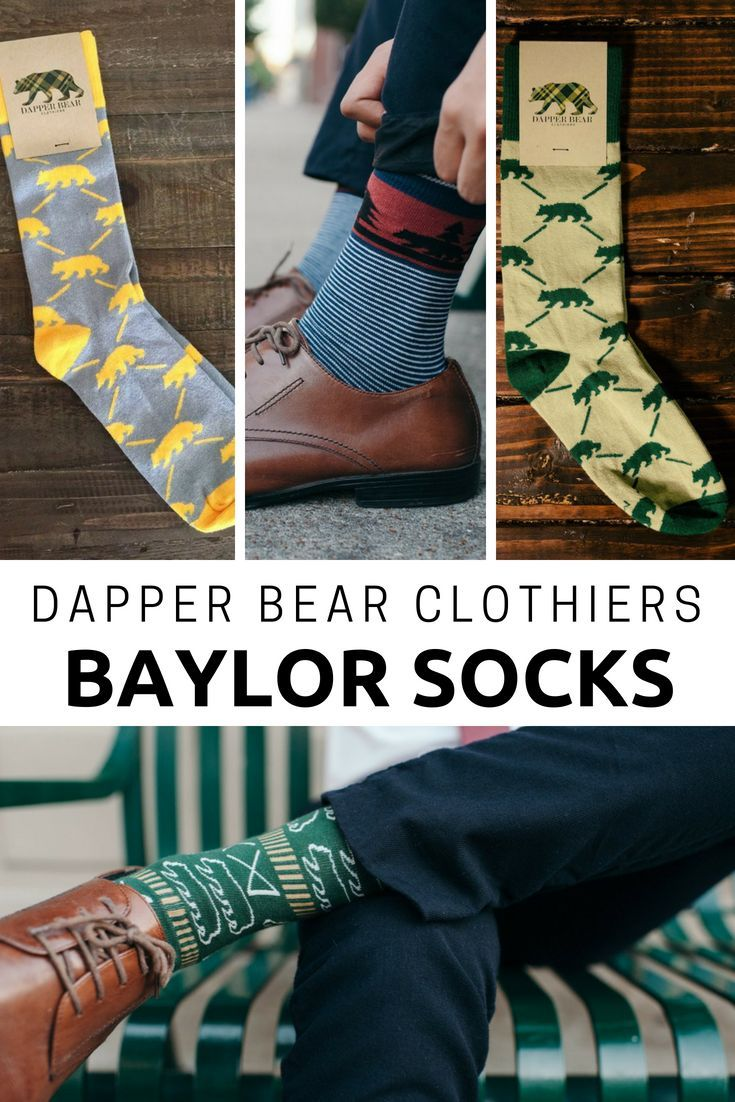 bd4ef14f66e2 Dapper Bear Clothiers - Socks | The Official Baylor Plaid | Socks ...