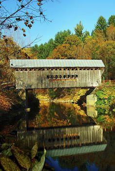 #Covered #Bridge in #New #England http://dennisharper.lnf.com/