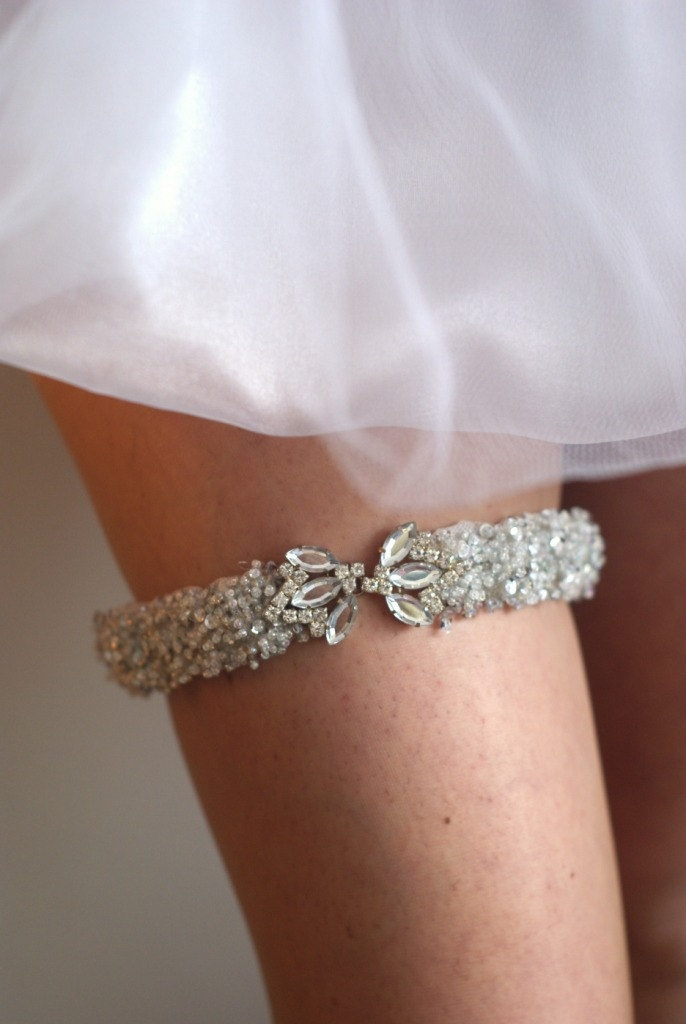 17 Best Images About Diy Wedding Garter On Pinterest