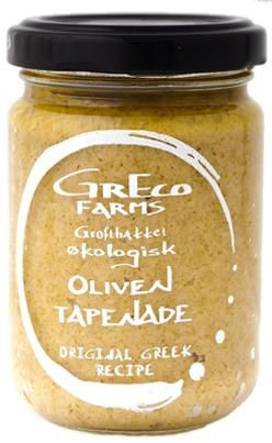 Tapenade, green, Organic   Greco Farms Great greek olives made into a tapenade. www.hverdagdeluxe.dk