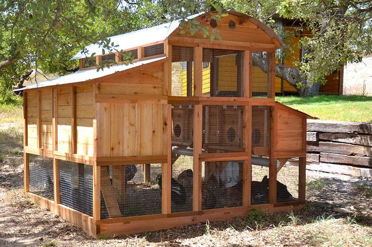 Round-Top Walk-In™ Chicken Coop   Walk in chicken coop ...