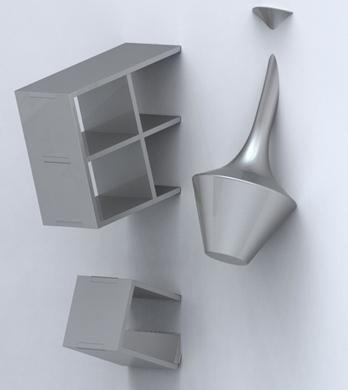 mobilier insolite | deco-insolite-interieur-mobilier-futuriste
