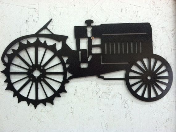 Tractor Metal Wall Art