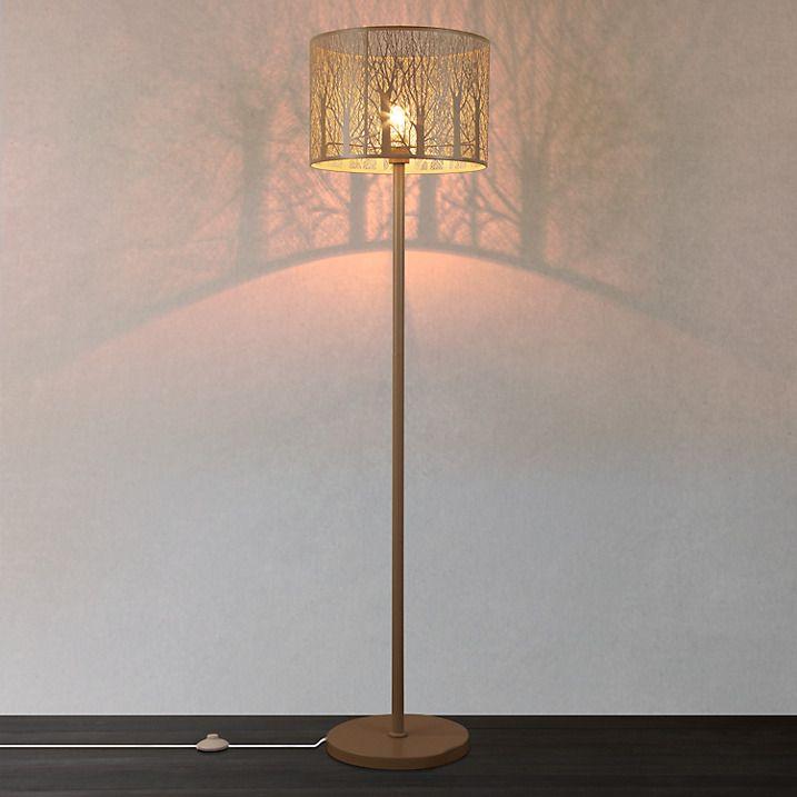 Buy John Lewis Devon Large Floor Lamp, Taupe Online at johnlewis.com