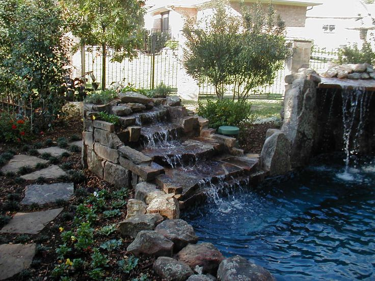 17 Best Images About Hot Tub Fountain Surround On
