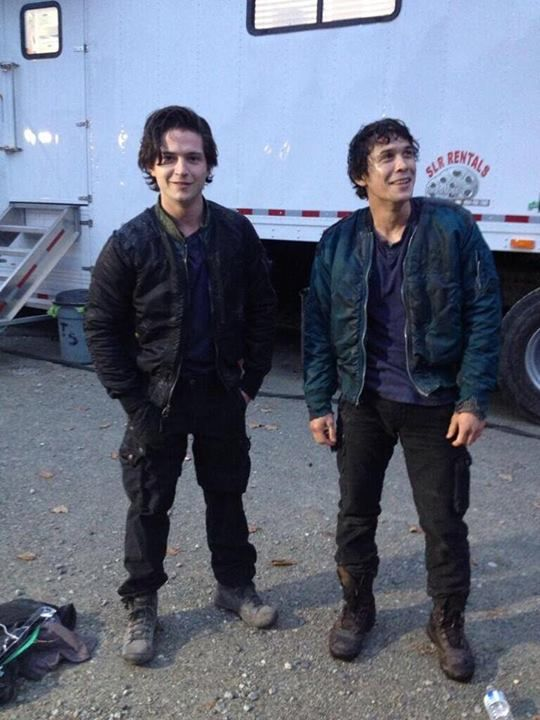 Bob Morley and Thomas McDonell #The100
