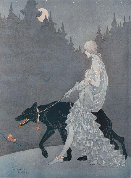 Toutes les tailles   Marjorie Miller, Queen of the Night, Tatler, 1931   Flickr: partage de photos!
