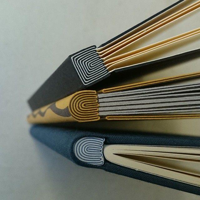 Onion skin binding by Benjamin Elbel #bookbinding