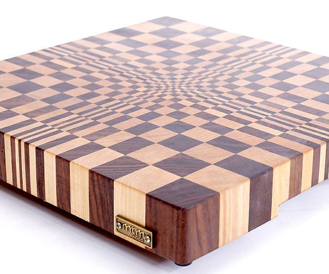 Hello!My name is Andrei. I live in Russia and run my small business. I am the only woodworker in the shop.I make only end grain cutting boards. I've been making end grain cutting boards for years.You can check my YouTube channel - https://www.youtube.com/user/mtmwood?feature=mheeSometimes I make 3D end grain cutting boards. I want to show you how to make simple and good looking 3D end grain cutting board. I called it a 3D end grain cutting board #1, because I have about fifteen 3D boards and…
