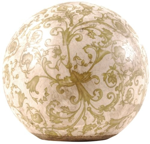 glass ball for hall lights, repaint and use outside in your garden!