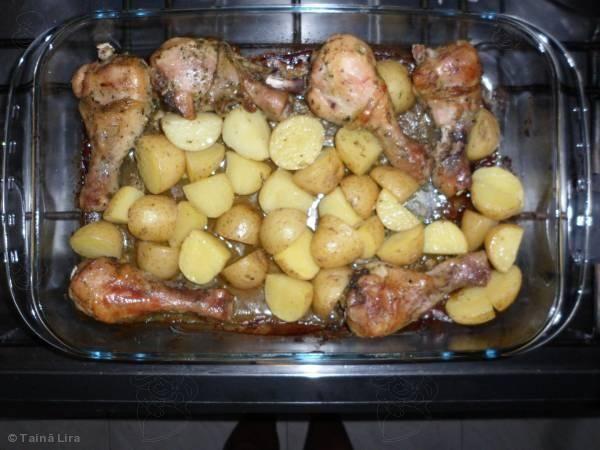 Receita de Coxa de frango assada com batatas: Revenues, Coxa De, Make Recipes, De Coxa, Frango Assada, Batata, The Frango, Cooking Recipes, Revenue