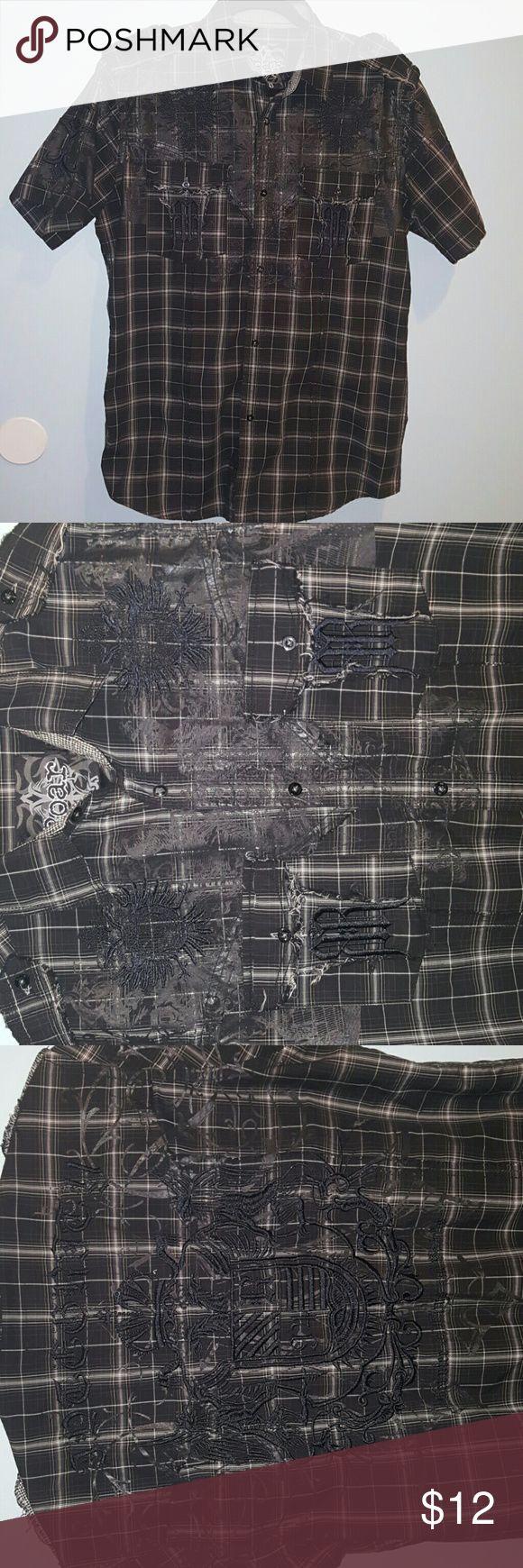 Roar men's button down shirt size L Roar men's button down shirt size L Roar Shirts Casual Button Down Shirts