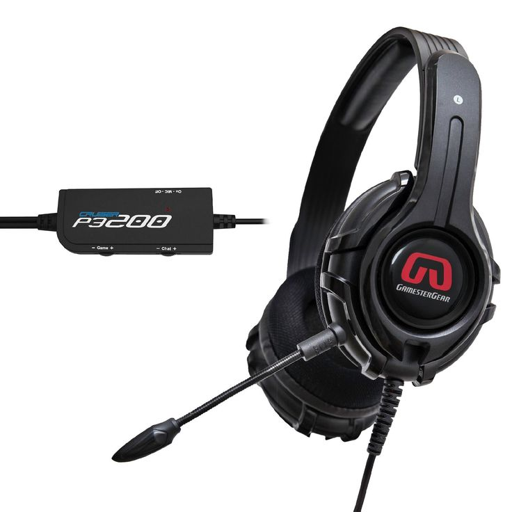 SYBA GamesterGear Cruiser P3200-I Stereo Headsets for PS4, PS3, and PC