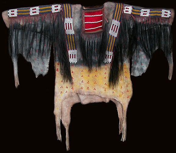 Lakota (Sioux) Scalp Shirt circa 1870