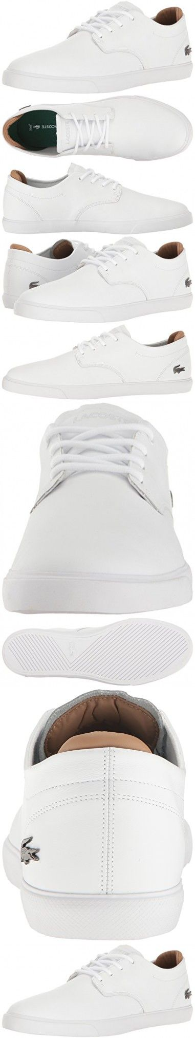 Lacoste Men's Espere 117 1 Casual Shoe Fashion Sneaker, White, 10 M US