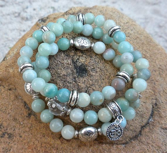 Hey, I found this really awesome Etsy listing at http://www.etsy.com/listing/125277510/3-beautifully-stacked-amazonite