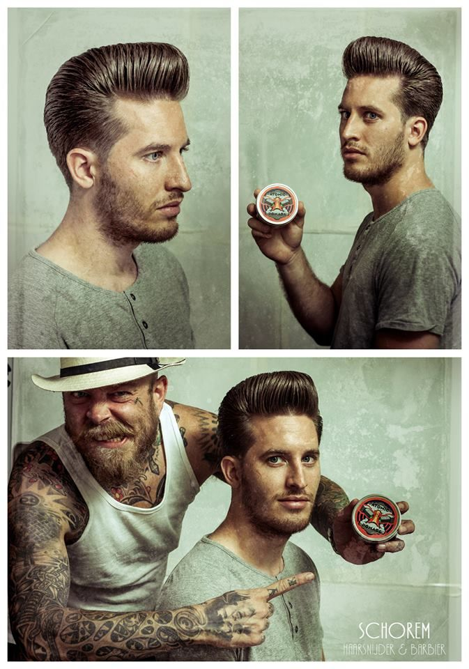 Atomic Pomade, Men's Hair. I follow these guys on facebook from the master's 2 months ago. I totally bought the dvd.