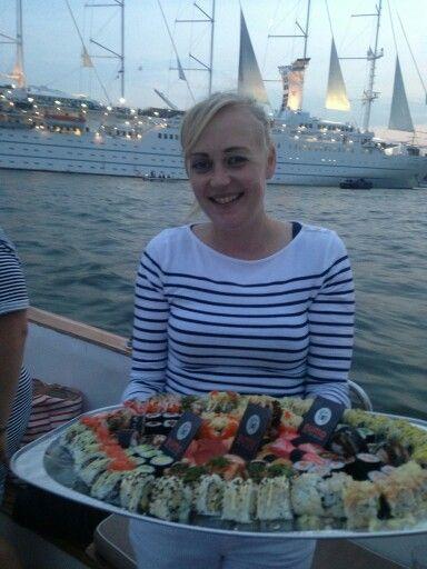 Sumo sushi at Sail Amsterdam