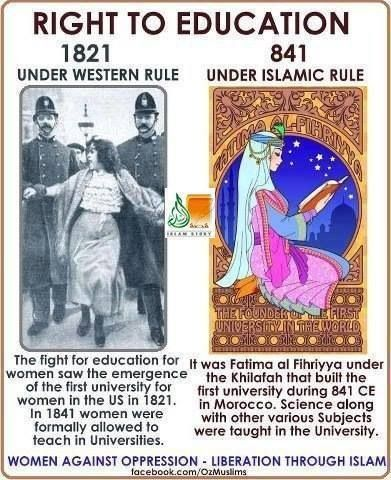 Islam knows what women deserve